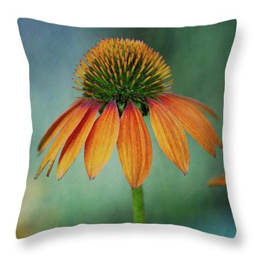 Throw Pillow featuring the photograph Attracting Attention by Dale Kincaid