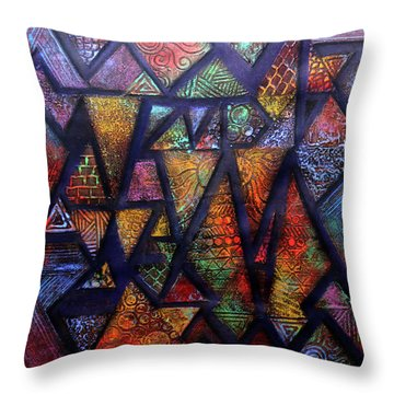 Attractive Mosaic  Throw Pillow