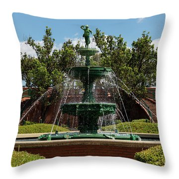 Augusta Riverwalk - Augusta Ga Throw Pillow