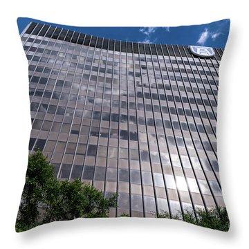 Augusta University Building 1 Throw Pillow