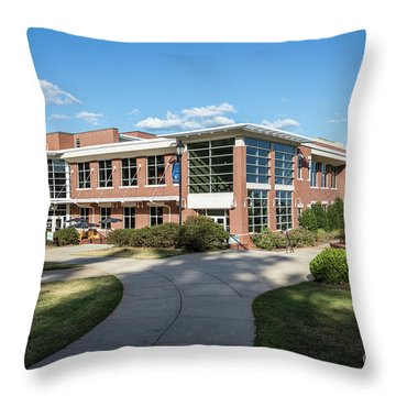 Augusta University Student Activity Center Ga Throw Pillow