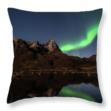 Aurora Reflexions Throw Pillow