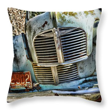 Austin A40 Throw Pillow