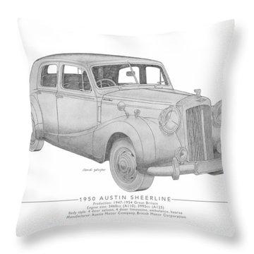 Austin Sheerline Saloon Throw Pillow