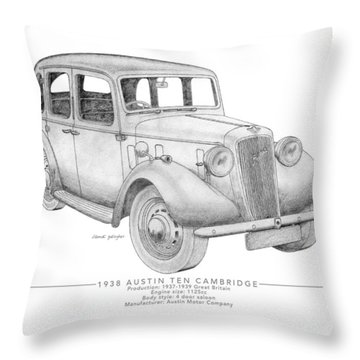 Austin Ten Cambridge Saloon Throw Pillow