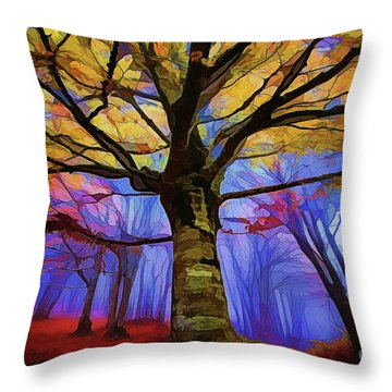 Autumn A18-120 Throw Pillow
