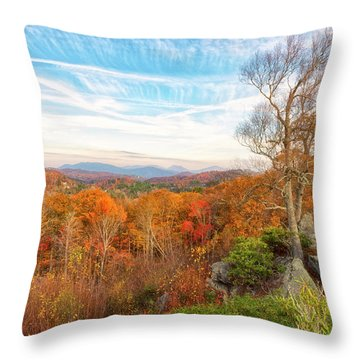 Throw Pillow featuring the photograph Autumn Afternoon by Russell Pugh