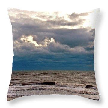 Autumn Air Throw Pillow