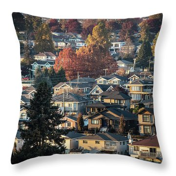 Autumn At Home Throw Pillow