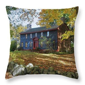 Autumn At Short House Throw Pillow