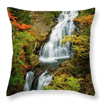 Autumn Falls, Crystal Cascade Throw Pillow
