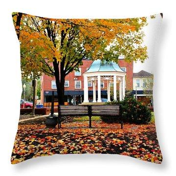 Autumn Gatherings  Throw Pillow