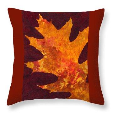 Autumn Oak 6 Throw Pillow
