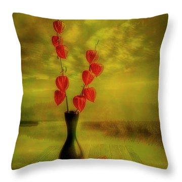 Autumn Still Life 3 Throw Pillow