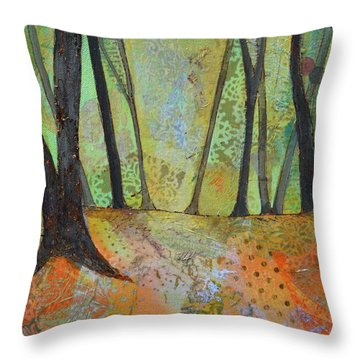 Autumn's Arrival I Throw Pillow