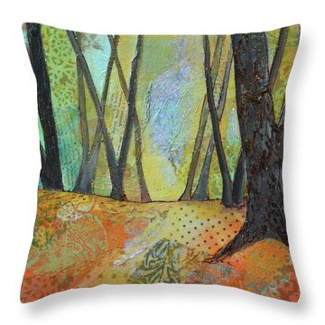 Autumn's Arrival II Throw Pillow