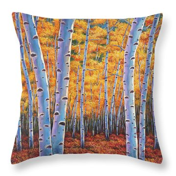 Autumn's Dreams Throw Pillow