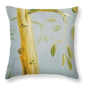 Avocado Tree  Throw Pillow
