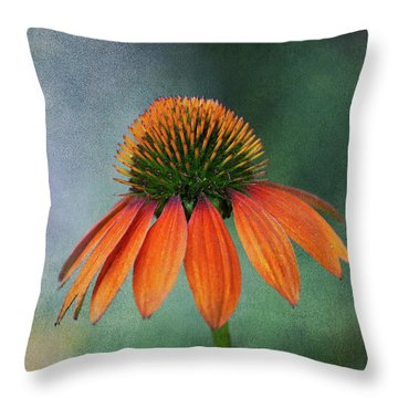 Throw Pillow featuring the photograph Awaiting  Pollination by Dale Kincaid