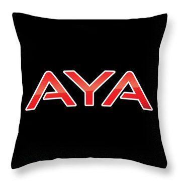 Aya Throw Pillow