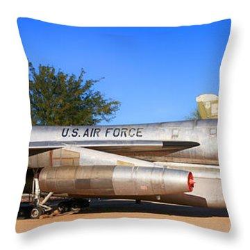B58 Hustler Sac Bomber Throw Pillow
