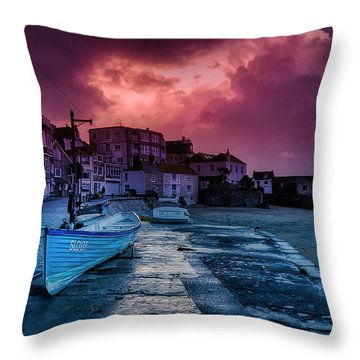 Back From The Shop Throw Pillow