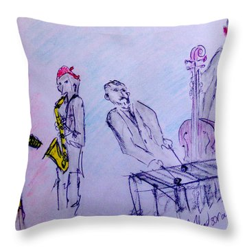 David Floodstrand Throw Pillows