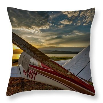 Backcountry Bonanza Throw Pillow