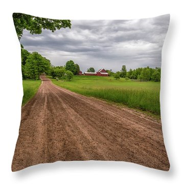 Backroad Farm 2 Throw Pillow