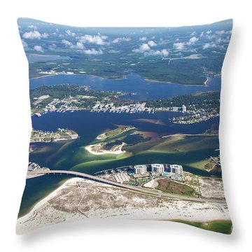 Backwaters 5122-a Throw Pillow