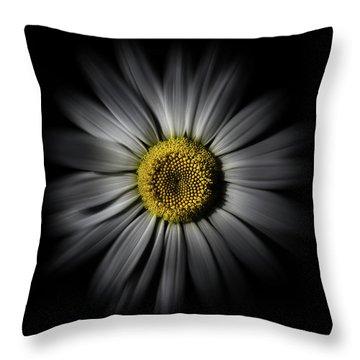 Backyard Flowers 52 Color Flow Version Throw Pillow