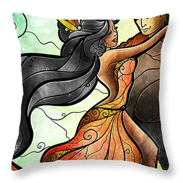 Bailar Conmigo Throw Pillow