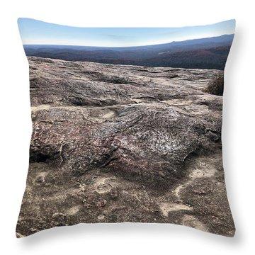 Bald Rock Throw Pillow