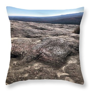 Bald Rock Throw Pillow