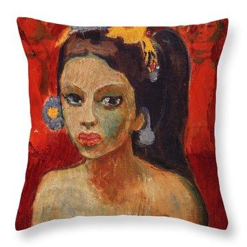 Balinesin Throw Pillow