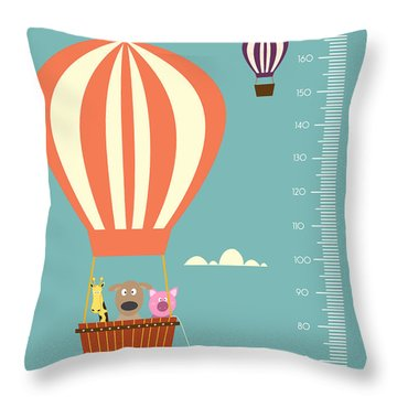 Measure Throw Pillows