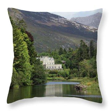 Ballynahinch Castel Throw Pillow