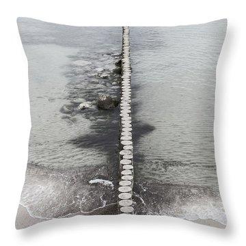 Baltic Sea #3775 Throw Pillow