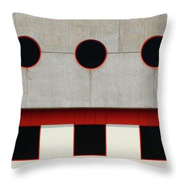 Baltimore Windows Throw Pillow