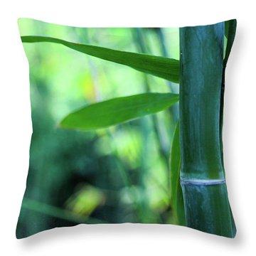 Bamboo 0321 Throw Pillow