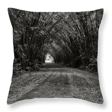 Bamboo Cathedral I Throw Pillow