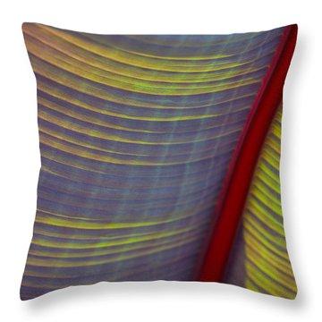 Banana Leaf 8597 Throw Pillow