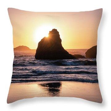 Bandon Light Throw Pillow
