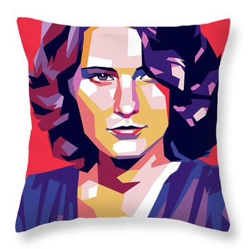 Barbara Stanwyck Throw Pillow
