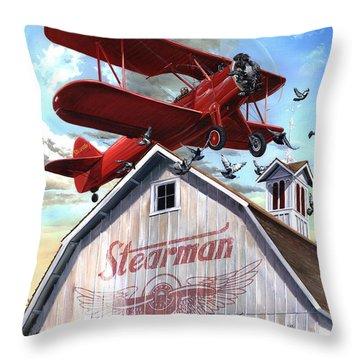 Barn Stormer - Customizeable Throw Pillow