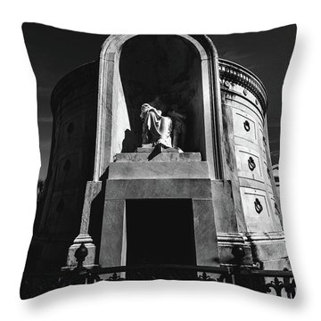 Baroque Tomb Throw Pillow