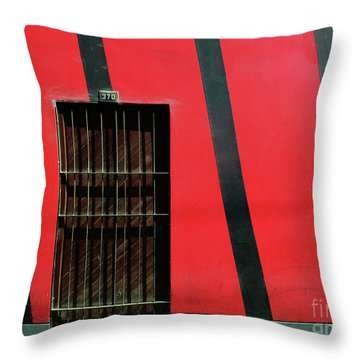 Bars And Stripes Throw Pillow