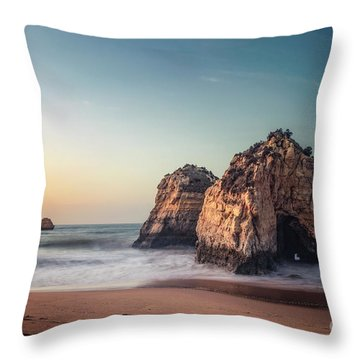 Bathed In Sunlight Throw Pillow