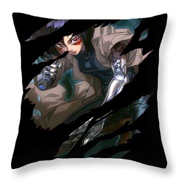 Battle Angel Alita Throw Pillow