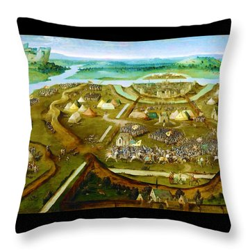Battle Throw Pillows